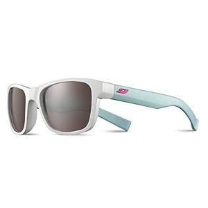 Julb6|#julbo Julbo Reach L Girls' Sunglasses, White/Mint with Fuchsia Logo, FR: S (Manufacturer's Size: 10-15 years)