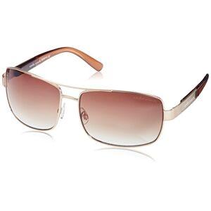 Carlo Monti Men's SCM114-122 Rectangular Sunglasses, Gold