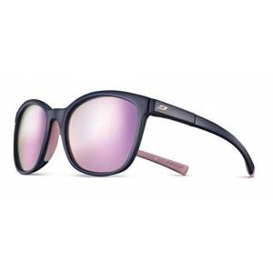 Julbo Women's Spark Sunglasses, Dark Blue/Light Pink, One Size