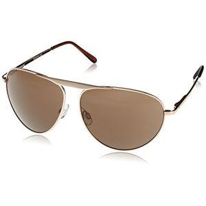 Carlo Monti Men's SCM108-122 Aviator Sunglasses, Gold