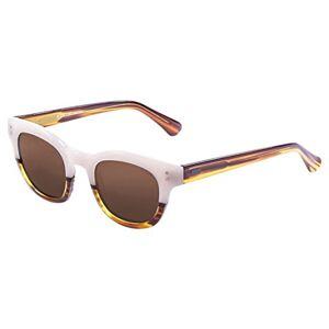 Ocean Sunglasses Ocean Santa Cruz Sunglasses Brown Light Up/Brown/White Lens