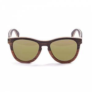 Ocean Sunglasses Ocean Wedge Sunglasses Gold Brown Frame/Revo Lens