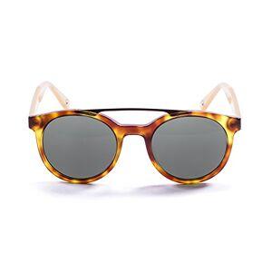 Ocean Sunglasses Tiburon Ocean Demy Sunglasses Brown/Yellow/Light Brown/Smoke Lens