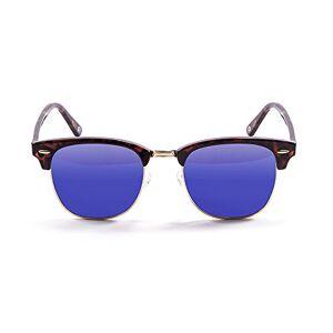 Ocean Sunglasses OceanGlasses - Mr.Bratt - Polarized Sunglasses - Frame : Brown - Lens: Revo Blue (70001.2)