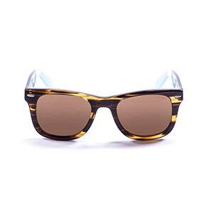 Ocean Sunglasses Ocean Lowers Demy Sunglasses Brown/Dark Brown/White/Blue/Brown Lens