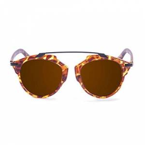 Pam3b|#paloalto Sunglasses Paloalto Santorini Sunglasses Sun Glasses Unisex Adult, Demy Brown