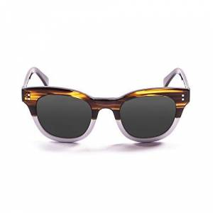 Ocean Sunglasses Ocean Unisex Adults' Eye Sunglasses, Brown (Marrone/Bianco), 47