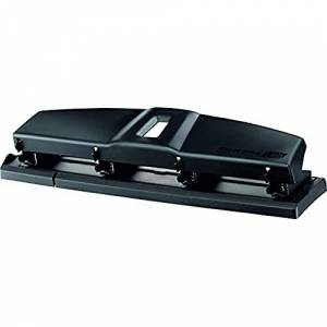 Maped Office Essentials Four Hole Metal Hole Punch, 28 cm