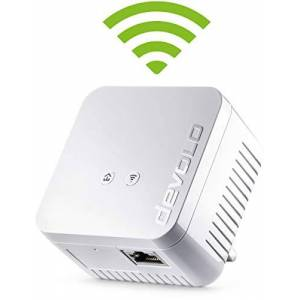 Devolo 9626 dLAN 550 Wi-Fi Add-On Powerline Adapter (Powerline Speeds Up-to 500 Mbps, Easy Installation, WiFi Move Technology, Whole Home Wifi), White