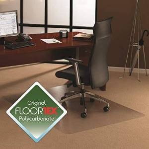 Floortex Chair Mat, Polycarbonate, 120cm x 150cm