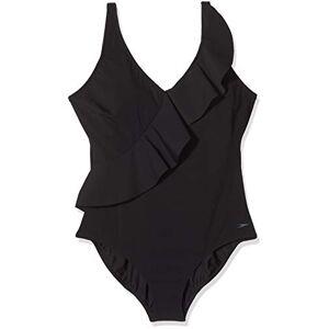 Speedo Women's RubySun Swimsuit, Black, Size 40/UK 18