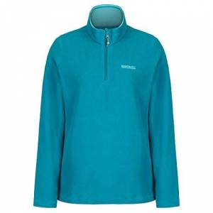 Regatta Women's Sweethart Lightweight Half-Zip Symmetry Fleece, Blue (Deep Lake), 24