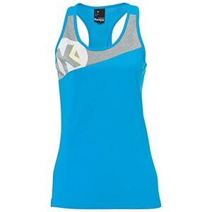 Kempa Women's Core 2.0 Singlet Ladies Blue/Dark Grey Melan, XS