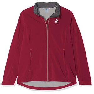 ODLO Women's Softshell Lolo Jacket, Rumba Red, Large