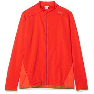 ODLO Women's Midlayer full zip THUNDER, spicy orange, XL