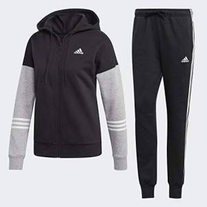 adidas Women's WTS CO ENERGIZE Tracksuit, Black/Medium Grey Heather/White, X-Small