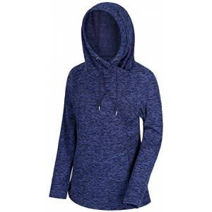 Regatta Women's Kizmit II Lightweight Cowl Neck Hooded Fleece, Navy, 18 (Manufacturer Size: XL)