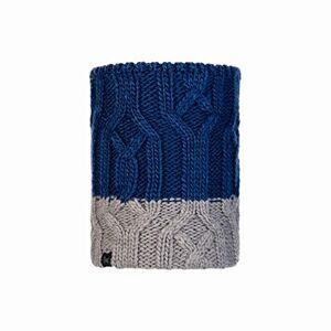 Original Buff Buff Knitted & Fleece Neckwarmer Ganbat Blue Jr Tubular, Children, Blue, One Size