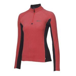 Keela Women's Pulse Micro Fleece Top - Red/Black, Size 14
