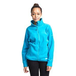 Trespass Clarice, Bermuda, M, Warm Fleece Jacket 280gsm for Women, Medium, Blue