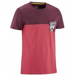 Edelrid Gmbh & Co. Kg EDELRID Men's Nofoot T-Shirt, True red, S