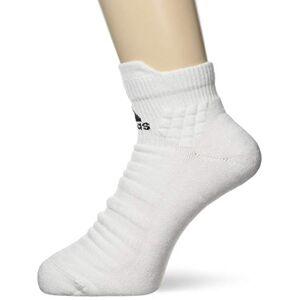 adidas Unisex's ASK ANKLE MC Length Socks, White/Black, X-Small