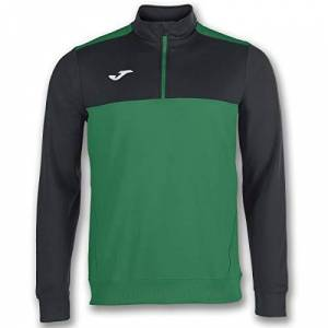 Joma Men's Winner Sweatshirt, Green/Black, S