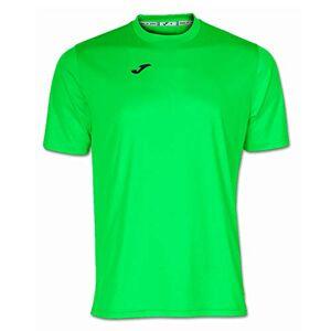 Joma Men's 100052.020 Short Sleeve T-Shirt Fluorescent Green, Small