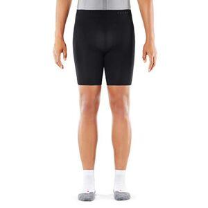 FALKE Men Warm Short Tights - Sports Performance Fabric, Black (Black 3000), S, 1 Piece