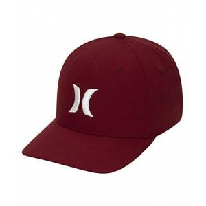 Hurley Men's M Dri-Fit One&Only 2.0 Hat Cap, Team Red, L/XL