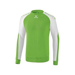 Erima Men's Essential 5-C Sweat Shirt, Green/White, Small