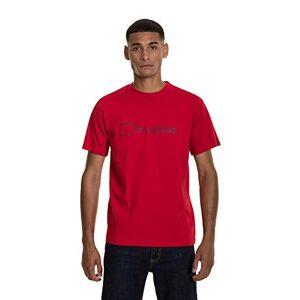 Berghaus Men's Modern Logo T-Shirt, Haute Red, X-Small