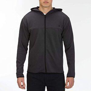 Hurley M Dri-Fit Naturals Full Zip Fleece - Off Noir, XL