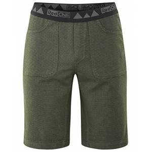 Red Chili Me Gaeshi Men's Shorts, Mens, Shorts, 301040145500, Alga Green, XL