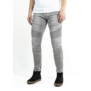 Jdd4002-33/34-Xtm John Doe Trousers, Grey/Darck Grey, 33/34