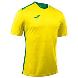 Joma Men's 100417.915 Short Sleeve T-Shirt Yellow/Green, 6X-Small/5X-Small