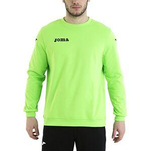 Joma Mens Cairo Sweatshirt Green Fluor, Unisex adult, 6015.11.02.14, Neon Green - 11, Small