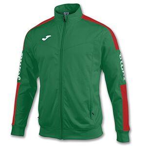 Joma Boys' 100687.456 Sweatshirt, Green/Red, XXS