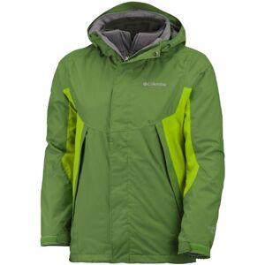 Columbia Men's Sestrieres Interchange Jacket Green Dark Backcountry Size:S