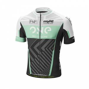 Altura Men's One Pro Cycling Team Short Sleeve Jersey, Green, X-Small