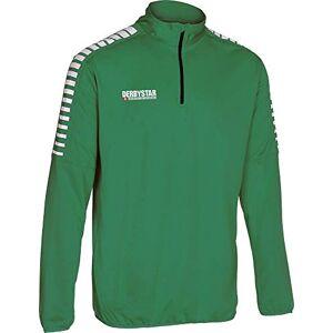 Derbystar unisex_adult Hyper Trainings Top, Green and white, XL