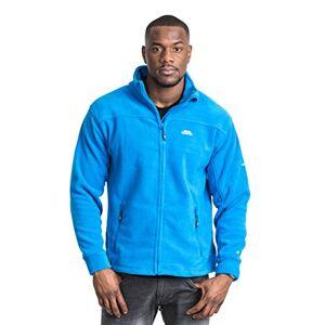 Trespass Men's Bernal Warm Fleece Jacket, Electric Blue, Small