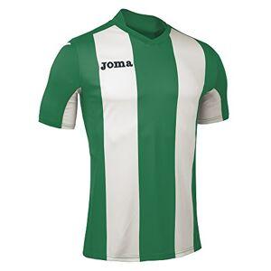 Joma Men's Camiseta Pisa M/C Sport T-Shirt, Green/Verde/Blanco, 2X-Small
