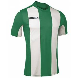 Joma Men's Camiseta Pisa M/C Sport T-Shirt, Green/Verde/Blanco, Small