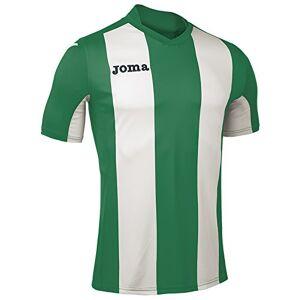 Joma Men's Camiseta Pisa M/C Sport T-Shirt, Green/Verde/Blanco, 4X-Small/2X-Small