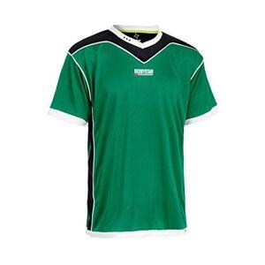 Derbystar Men's Brilliant Jersey, Green/Black, 2X-Large