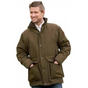 Sherwood Forest Men's Gadwall Shooting Jacket - Moss Olive, Small