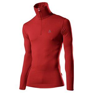 Lã¶ffler LÖFFLER HR Basic CF Men's Sweater Transtex Zip Roll-Neck Red red Size:46