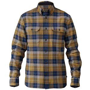 Fjall Raven (Outdoor) Fjallraven Men's Sarek Heavy Flannel Shirt, Dark Olive, Small