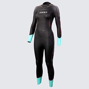 ZONE3 Women's Vision Wetsuit, Black/Blue, S